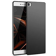 Handyhülle Hülle Kunststoff Schutzhülle Matt M03 für Huawei P8 Lite Schwarz