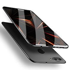 Handyhülle Hülle Kunststoff Schutzhülle Matt M03 für Huawei Y9 (2018) Schwarz