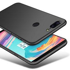 Handyhülle Hülle Kunststoff Schutzhülle Matt M03 für OnePlus 5T A5010 Schwarz