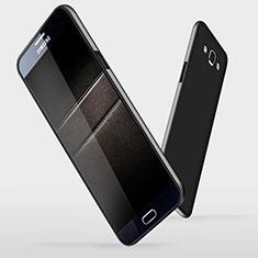 Handyhülle Hülle Kunststoff Schutzhülle Matt M03 für Samsung Galaxy A7 SM-A700 Schwarz