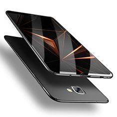 Handyhülle Hülle Kunststoff Schutzhülle Matt M03 für Samsung Galaxy A9 (2016) A9000 Schwarz