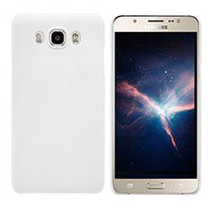 Handyhülle Hülle Kunststoff Schutzhülle Matt M03 für Samsung Galaxy J7 (2016) J710F J710FN Weiß