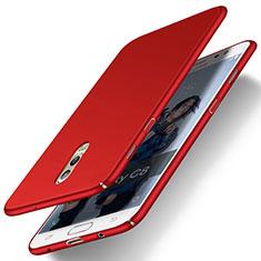 Handyhülle Hülle Kunststoff Schutzhülle Matt M03 für Samsung Galaxy J7 Plus Rot