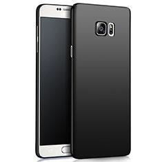 Handyhülle Hülle Kunststoff Schutzhülle Matt M03 für Samsung Galaxy Note 5 N9200 N920 N920F Schwarz