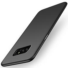 Handyhülle Hülle Kunststoff Schutzhülle Matt M03 für Samsung Galaxy Note 8 Schwarz