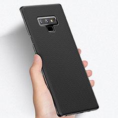 Handyhülle Hülle Kunststoff Schutzhülle Matt M03 für Samsung Galaxy Note 9 Schwarz