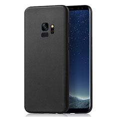 Handyhülle Hülle Kunststoff Schutzhülle Matt M03 für Samsung Galaxy S9 Schwarz