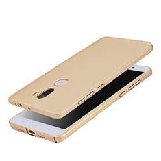 Handyhülle Hülle Kunststoff Schutzhülle Matt M03 für Xiaomi Mi 5S Plus Gold