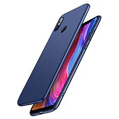 Handyhülle Hülle Kunststoff Schutzhülle Matt M03 für Xiaomi Mi 8 Blau