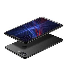 Handyhülle Hülle Kunststoff Schutzhülle Matt M03 für Xiaomi Mi 8 Lite Schwarz