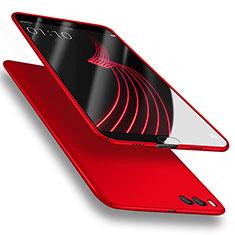 Handyhülle Hülle Kunststoff Schutzhülle Matt M03 für Xiaomi Mi Note 3 Rot