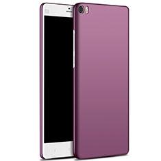Handyhülle Hülle Kunststoff Schutzhülle Matt M03 für Xiaomi Mi Note Violett