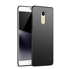 Handyhülle Hülle Kunststoff Schutzhülle Matt M03 für Xiaomi Redmi Pro Schwarz