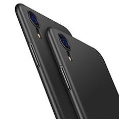 Handyhülle Hülle Kunststoff Schutzhülle Matt M04 für Apple iPhone XR Schwarz
