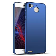 Handyhülle Hülle Kunststoff Schutzhülle Matt M04 für Huawei Enjoy 5S Blau