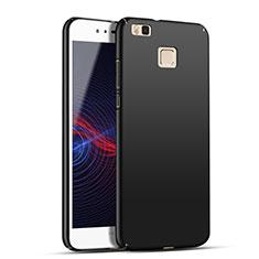 Handyhülle Hülle Kunststoff Schutzhülle Matt M04 für Huawei G9 Lite Schwarz