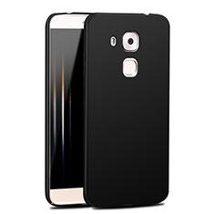 Handyhülle Hülle Kunststoff Schutzhülle Matt M04 für Huawei G9 Plus Schwarz