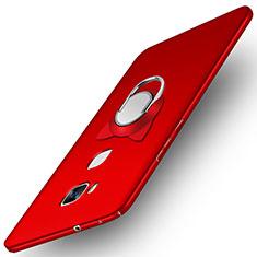 Handyhülle Hülle Kunststoff Schutzhülle Matt M04 für Huawei Honor 5X Rot