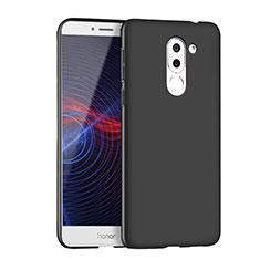 Handyhülle Hülle Kunststoff Schutzhülle Matt M04 für Huawei Honor 6X Schwarz