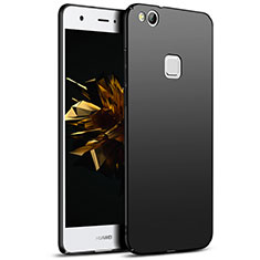 Handyhülle Hülle Kunststoff Schutzhülle Matt M04 für Huawei Honor 8 Lite Schwarz