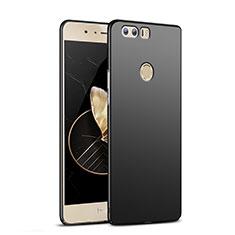 Handyhülle Hülle Kunststoff Schutzhülle Matt M04 für Huawei Honor 8 Schwarz
