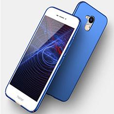 Handyhülle Hülle Kunststoff Schutzhülle Matt M04 für Huawei Honor V9 Play Blau