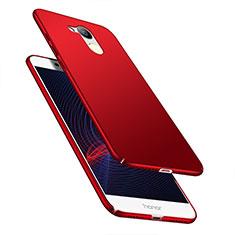 Handyhülle Hülle Kunststoff Schutzhülle Matt M04 für Huawei Honor V9 Play Rot