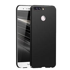 Handyhülle Hülle Kunststoff Schutzhülle Matt M04 für Huawei Honor V9 Schwarz