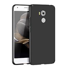 Handyhülle Hülle Kunststoff Schutzhülle Matt M04 für Huawei Mate 7 Schwarz