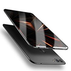 Handyhülle Hülle Kunststoff Schutzhülle Matt M04 für Huawei P Smart Schwarz