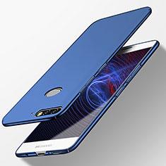 Handyhülle Hülle Kunststoff Schutzhülle Matt M04 für Huawei Y7 (2018) Blau