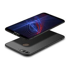 Handyhülle Hülle Kunststoff Schutzhülle Matt M04 für Huawei Y7 (2018) Schwarz