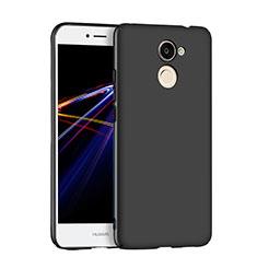 Handyhülle Hülle Kunststoff Schutzhülle Matt M04 für Huawei Y7 Prime Schwarz