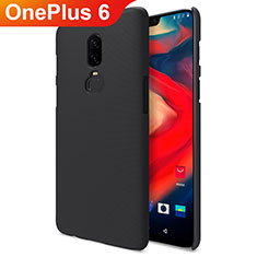 Handyhülle Hülle Kunststoff Schutzhülle Matt M04 für OnePlus 6 Schwarz