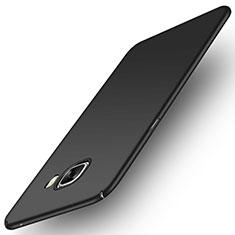Handyhülle Hülle Kunststoff Schutzhülle Matt M04 für Samsung Galaxy C7 SM-C7000 Schwarz