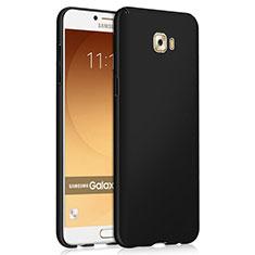 Handyhülle Hülle Kunststoff Schutzhülle Matt M04 für Samsung Galaxy C9 Pro C9000 Schwarz