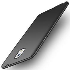 Handyhülle Hülle Kunststoff Schutzhülle Matt M04 für Samsung Galaxy Note 3 N9000 Schwarz