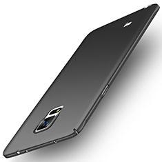 Handyhülle Hülle Kunststoff Schutzhülle Matt M04 für Samsung Galaxy Note 4 Duos N9100 Dual SIM Schwarz