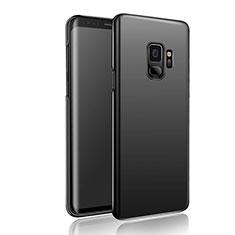 Handyhülle Hülle Kunststoff Schutzhülle Matt M04 für Samsung Galaxy S9 Schwarz