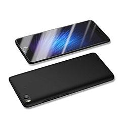Handyhülle Hülle Kunststoff Schutzhülle Matt M04 für Xiaomi Mi 5S 4G Schwarz