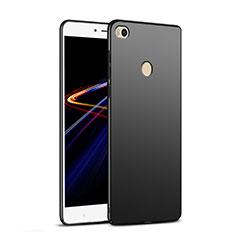 Handyhülle Hülle Kunststoff Schutzhülle Matt M04 für Xiaomi Mi Max 2 Schwarz