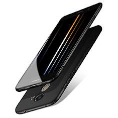Handyhülle Hülle Kunststoff Schutzhülle Matt M05 für Huawei Enjoy 7 Plus Schwarz