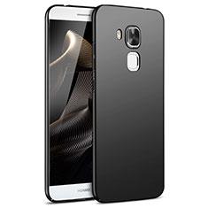 Handyhülle Hülle Kunststoff Schutzhülle Matt M05 für Huawei G9 Plus Schwarz