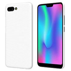 Handyhülle Hülle Kunststoff Schutzhülle Matt M05 für Huawei Honor 10 Weiß