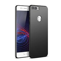 Handyhülle Hülle Kunststoff Schutzhülle Matt M05 für Huawei Honor 8 Schwarz