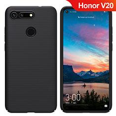 Handyhülle Hülle Kunststoff Schutzhülle Matt M05 für Huawei Honor V20 Schwarz