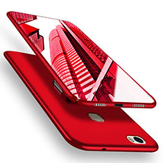 Handyhülle Hülle Kunststoff Schutzhülle Matt M05 für Huawei Honor V8 Max Rot