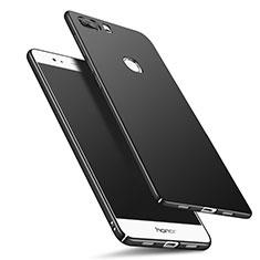 Handyhülle Hülle Kunststoff Schutzhülle Matt M05 für Huawei Honor V8 Schwarz