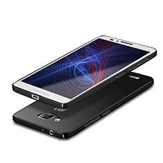 Handyhülle Hülle Kunststoff Schutzhülle Matt M05 für Huawei Mate 7 Schwarz