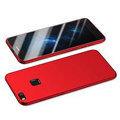 Handyhülle Hülle Kunststoff Schutzhülle Matt M05 für Huawei P8 Lite (2017) Rot